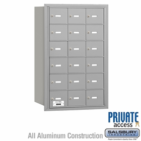 Salsbury 3618ARP 4B Mailboxes 18 Tenant Doors Rear Loading - Private Access
