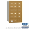 Salsbury 3618GRP 4B Mailboxes 18 Tenant Doors Rear Loading - Private Access