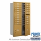 Salsbury 3715D-18GFP 4C Mailboxes 18 Tenant Doors Front Loading