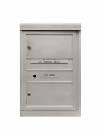 2 Double Height Tenant Doors Front Loading ADA48-SD2 USPS Approved 4C Horizontal Mailboxes