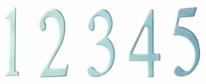 2 inch Stainless Steel Curbside Mailbox Numbers