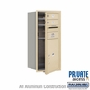 Salsbury 3709S-02SFP 4C Mailboxes 2 Tenant Doors Front Loading