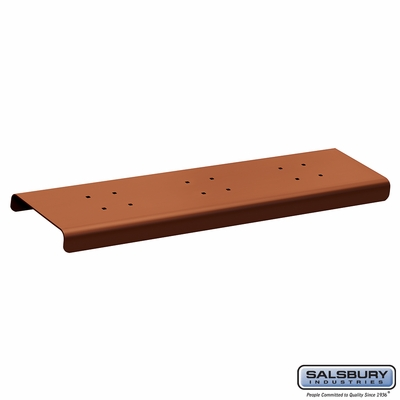 Salsbury 4382D-COP 2 Wide Spreader For Designer Roadside Mailbox Copper Finish