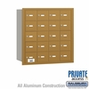 Salsbury 3620GRP 4B Mailboxes 20 Tenant Doors Rear Loading - Private Access