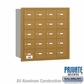 Salsbury 3620GRP 4B Mailboxes 19 Tenant Doors Rear Loading - Private Access