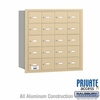 Salsbury 3620SRP 4B Mailboxes 19 Tenant Doors Rear Loading - Private Access