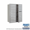 Salsbury 3711D-20AFP 4C Mailboxes 20 Tenant Doors Front Loading