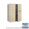 Salsbury 3711D-20SFP 4C Mailboxes 20 Tenant Doors Front Loading