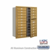 Salsbury 3711D-20GFU 4C Mailboxes 20 Tenant Doors Front Loading