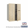 Salsbury 3711D-20SFU 4C Mailboxes 20 Tenant Doors Front Loading