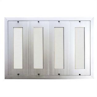 200 Name Capacity Directory for Vertical Mailboxes Anodized Aluminum