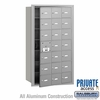 Salsbury 3621AFP 4B Mailboxes 20 Tenant Doors Front Loading - Private Access