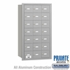 Salsbury 3621ARP 4B Mailboxes 21 Tenant Doors Rear Loading - Private Access
