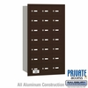 Salsbury 3621ZRP 4B Mailboxes  21 Tenant Doors Rear Loading - Private Access
