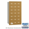 Salsbury 3621GRP 4B Mailboxes 21 Tenant Doors Rear Loading - Private Access