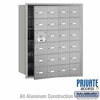 Salsbury 3624AFP 4B Mailboxes 23 Tenant Doors Front Loading - Private Access
