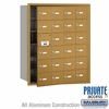 Salsbury 3624GFP 4B Mailboxes 23 Tenant Doors Front Loading - Private Access