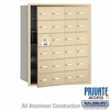 Salsbury 3624SFP 4B Mailboxes 23 Tenant Doors Front Loading - Private Access
