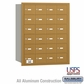 Salsbury 3624GRU 4B Mailboxes 24 Tenant Doors Rear Loading - USPS Access