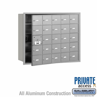 Salsbury 3625AFP 4B Mailboxes 24 Tenant Doors Front Loading - Private Access