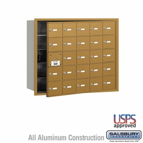 Salsbury 3625GFU 4B Mailboxes 24 Tenant Doors Front Loading - USPS Access