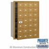 Salsbury 3628GFP 4B Mailboxes 27 Tenant Doors Front Loading - Private Access