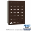 Salsbury 3628ZRP 4B Mailboxes 28 Tenant Doors Rear Loading - Private Access