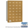 Salsbury 3628GRP 4B Mailboxes 28 Tenant Doors Rear Loading - Private Access