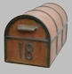 Craftsman Mailbox Post (post only)