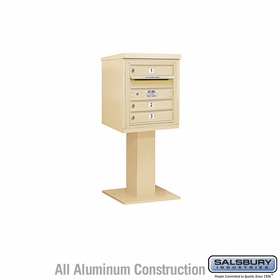 4C Pedestal Mailboxes - 3 to 4 Doors