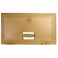 Salsbury 2053 #3 Door Replacement Door For Brass Mailboxes
