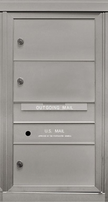 3 Double Height Tenant Doors Front Loading ADA54-SD3 USPS Approved 4C Horizontal Mailboxes