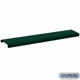 Salsbury 4383G 3 Wide Spreader For Mail Chests Green