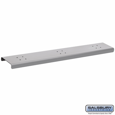 Salsbury 4383S 3 Wide Spreader For Mail Chests Silver