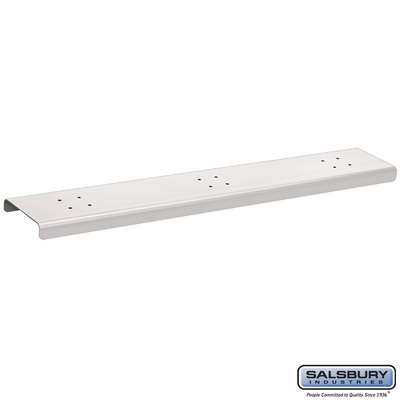 Salsbury 4383WHT 3 Wide Spreader For Roadside Mailboxes White