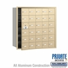 Salsbury 3630SFP 4B Mailboxes 29 Tenant Doors Front Loading - Private Access