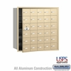 Salsbury 3630SFU 4B Mailboxes 29 Tenant Doors Front Loading - USPS Access