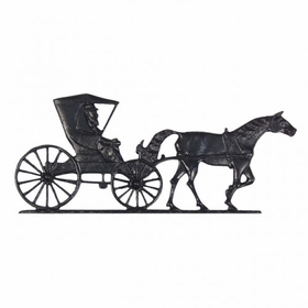 """Whitehall 30"""" Traditional Directions COUNTRY DOCTOR Weathervane in Black for Roof or Garden"""
