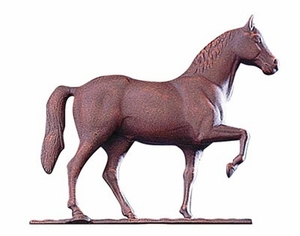 "Whitehall 30"" Traditional Directions Full-Bodied HORSE Weathervane"
