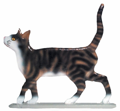 "Whitehall 30"" Traditional Directions Life-like MultiColor CAT STANDING Weathervane for Roof or Garden"