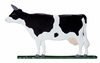 "Whitehall 30"" Traditional Directions Life-Like MultiColor COW Weathervane for Roof or Garden"