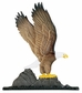 "Whitehall 30"" Traditional Directions Life-Like MultiColor Eagle Weathervane for Roof or Garden"