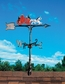 """Whitehall 30"""" Traditional Directions Life-Like MultiColor FIRE WAGON Weathervane for Roof or Garden"""