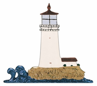 "Whitehall 30"" Traditional Directions Life-Like MultiColor Lighthouse Weathervane for Roof or Garden"