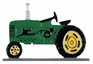 "Whitehall 30"" Traditional Directions Life-Like MultiColor TRACTOR Weathervane for Roof or Garden"