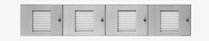 32 Name Capacity Directory - Top Mount to Horizontal Mailboxes - Choose Color