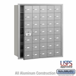 4B Mailboxes - 34 Tenant Doors - Front Loading