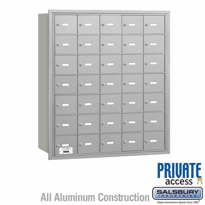 Salsbury 3635ARP 4B Mailboxes 35 Tenant Doors Rear Loading - Private Access