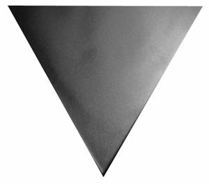 36 inch Triangle Traffic Sign Back Plates