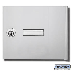 Salsbury 3651ALM 3651ALM Replacement Door and Lock - Standard A Size - for 4B+ Horizontal